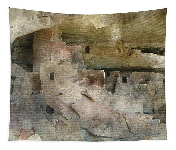 Mesa Verde Water Color Tapestry