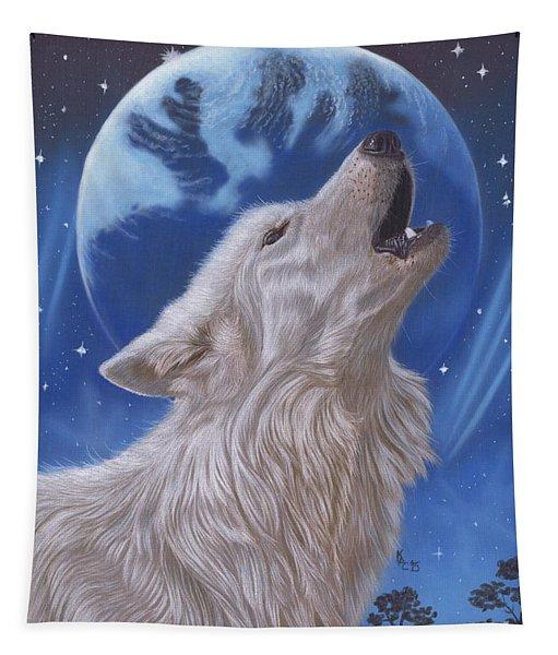 Midnight Caller Tapestry