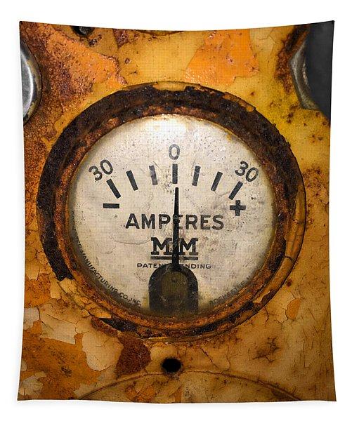 Mm Amperes Gauge Tapestry