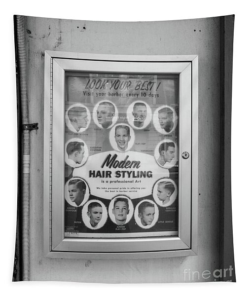 Modern Hair Styling Nyc Tapestry