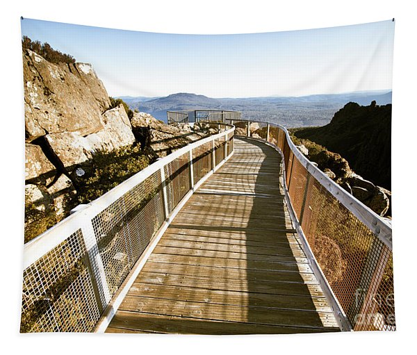 Mountain Summit Lookout Tapestry