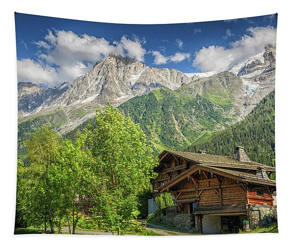 Mountain View Tapestry