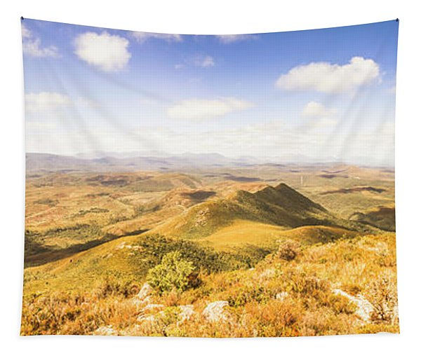 Mountains And Open Spaces Tapestry