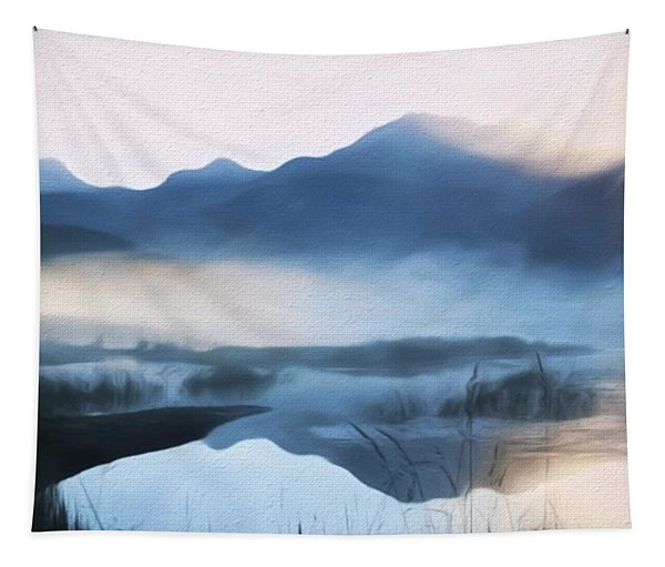 Moving Forward - Inspirational Art Tapestry