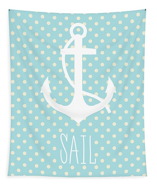 Nautical Anchor Tapestry