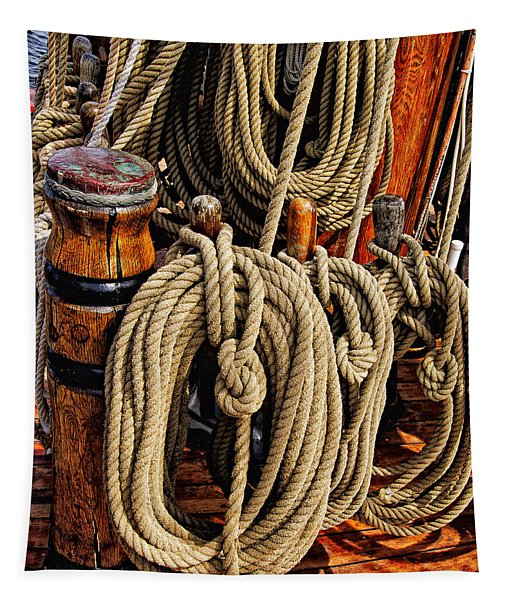 Nautical Knots 16 Tapestry