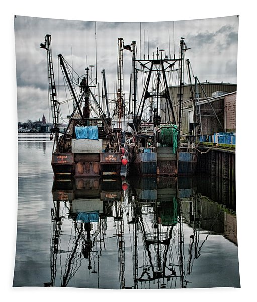 New Bedford Waterfront No. 1 - Color Tapestry