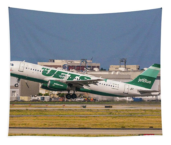 New York Jets Jet Tapestry