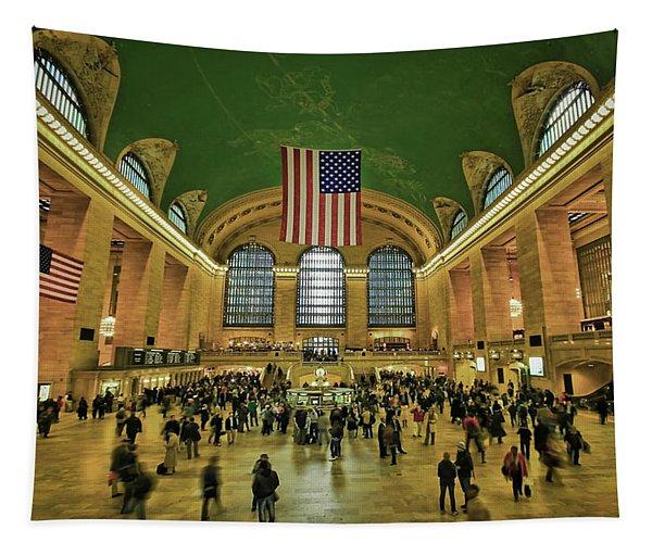 New York Minute Tapestry
