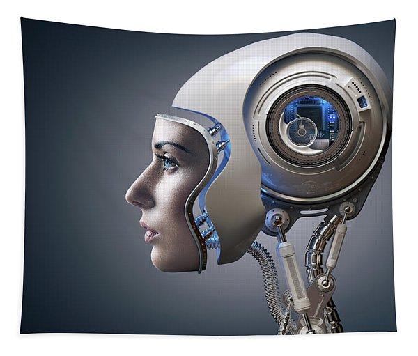 Next Generation Cyborg Tapestry