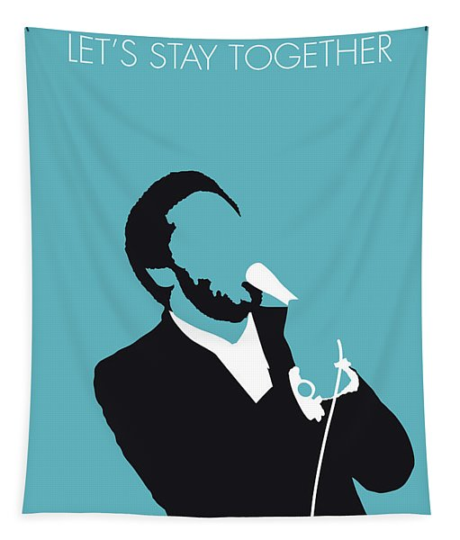 No135 My Al Green Minimal Music Poster Tapestry