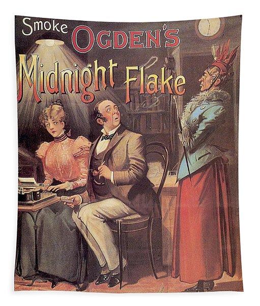 Ogden's Midnight Flake - Tobacco - Vintage Advertising Poster Tapestry