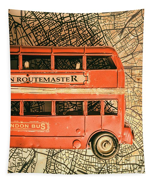 Old City Transit Tapestry