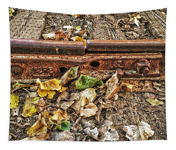 Old Tracks Tapestry