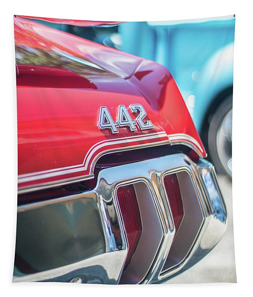 Olds 442 Classic Car Tapestry