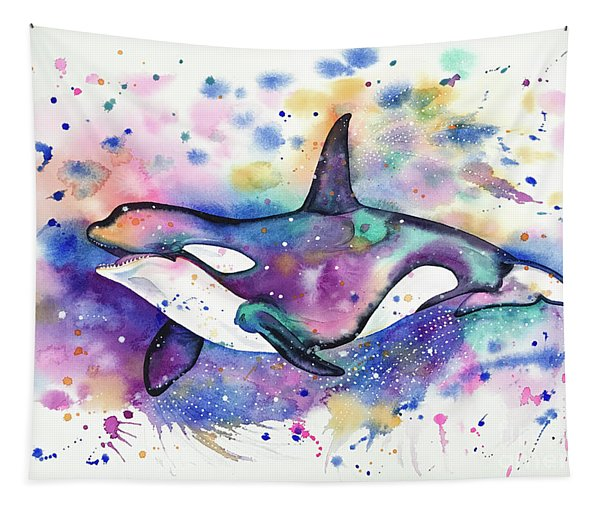 Orca Tapestry