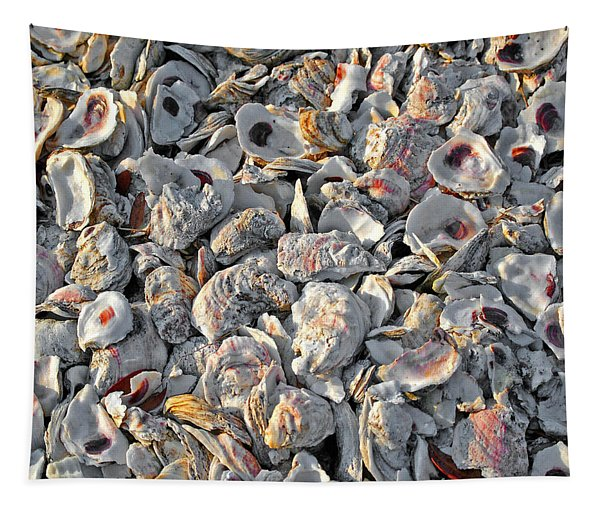 Oysters Shells Tapestry