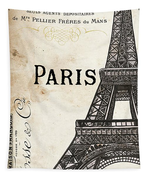 Paris, Ooh La La 1 Tapestry