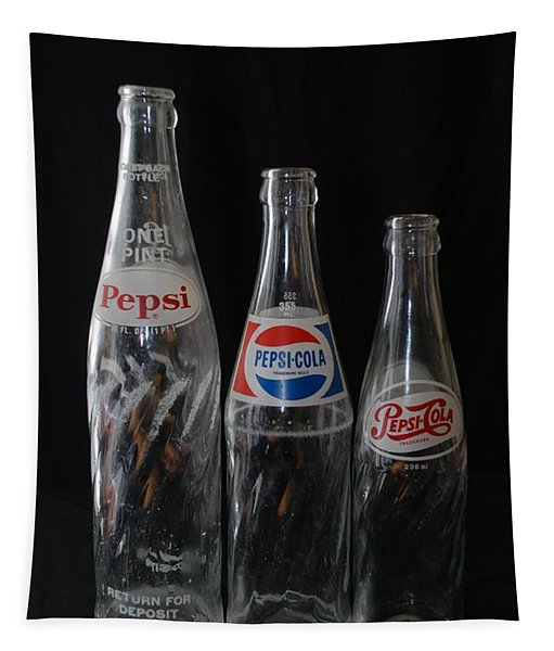 Pepsi Cola Bottles Tapestry