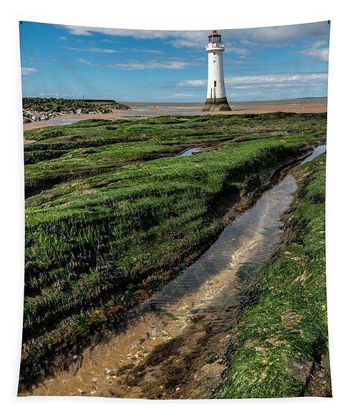 Perch Rock Lighthouse Tapestry