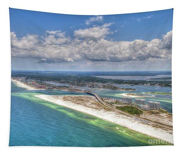 Perdido Pass Aerial 3029 Tapestry