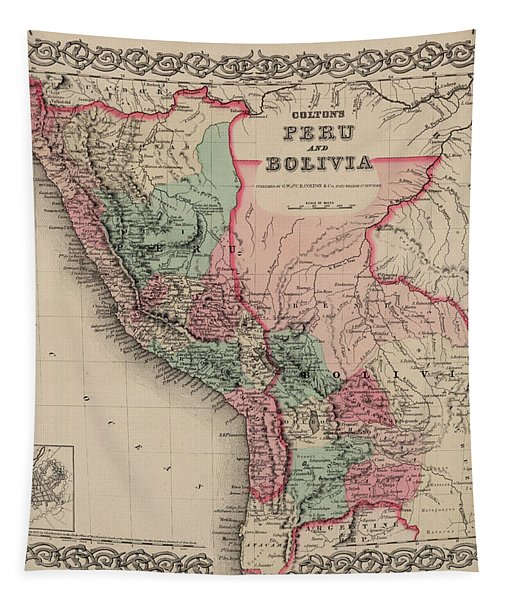 Peru And Bolivia Tapestry