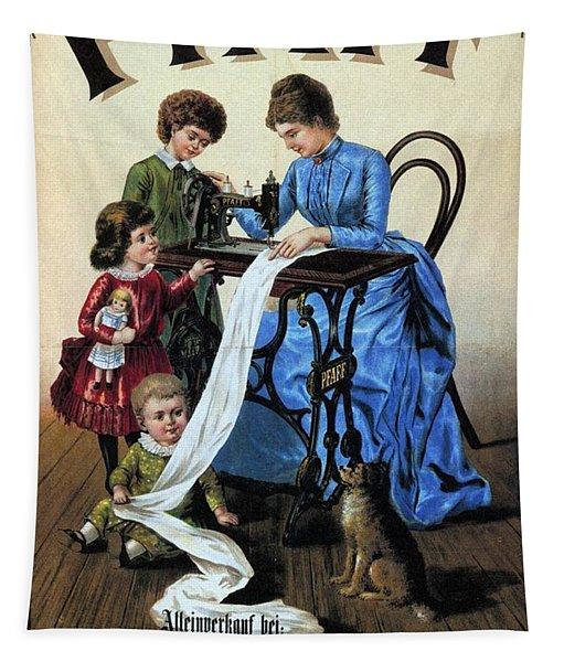 Pfaff - Sewing Machine - Vintage Advertising Poster Tapestry
