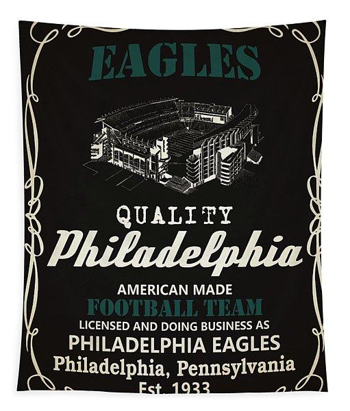 Philadelphia Eagles Whiskey Tapestry