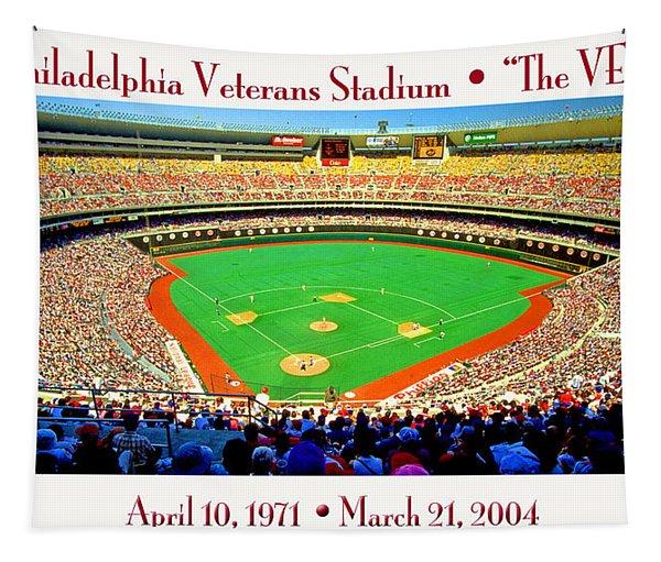 Philadelphia Veterans Stadium The Vet Tapestry