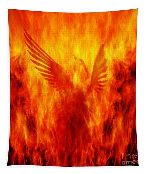 Phoenix Rising Tapestry