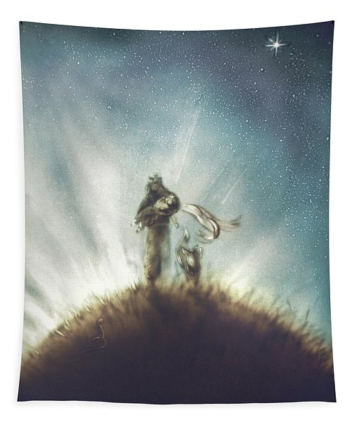 Pilot, Little Prince And Fox Tapestry