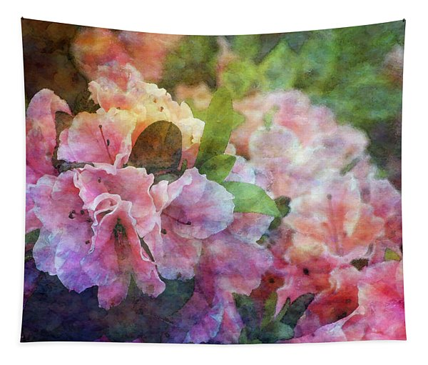 Pink With White Frills 1503 Idp_3 Tapestry
