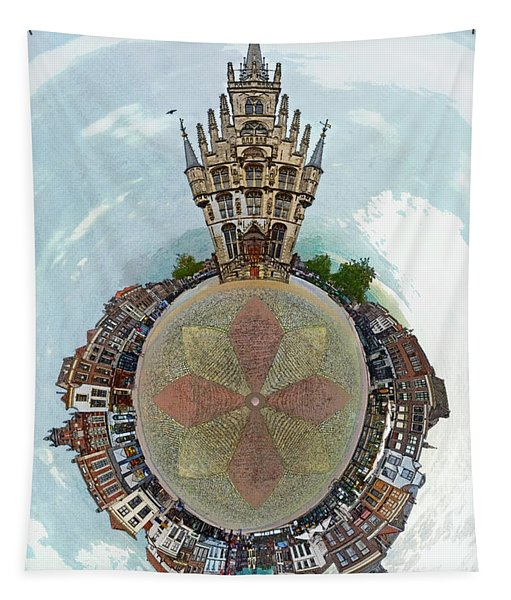 Planet Gouda Tapestry