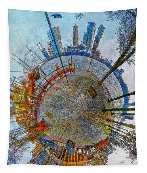 Planet Rotterdam Tapestry