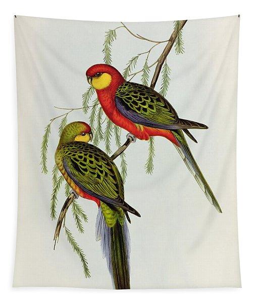 Platycercus Icterotis Tapestry