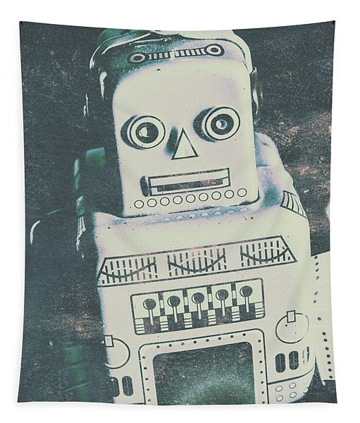 Playback The Antique Robot Tapestry