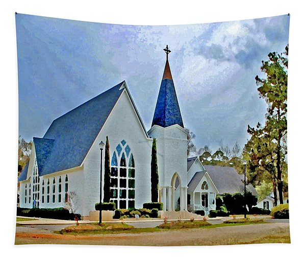 Point Clear Alabama St. Francis Church Tapestry