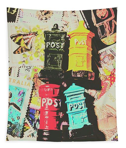Pop Art In Post Tapestry