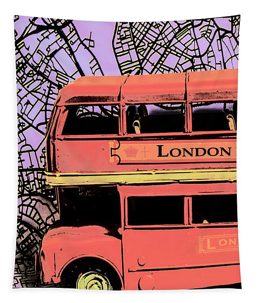 Pop Art Uk Tapestry