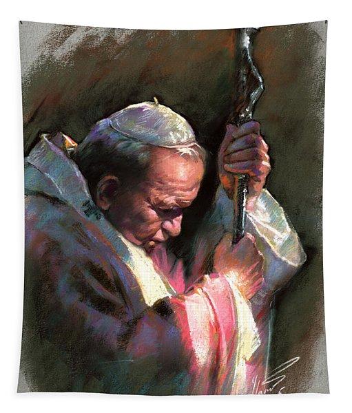 Pope John Paul II Tapestry