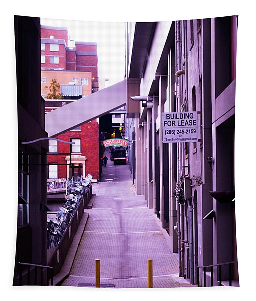 Post Alley, Seattle Tapestry