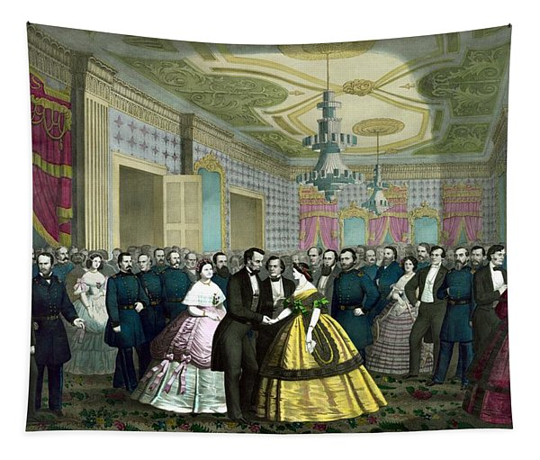 President Lincoln's Last Reception Tapestry