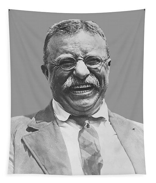President Teddy Roosevelt Tapestry