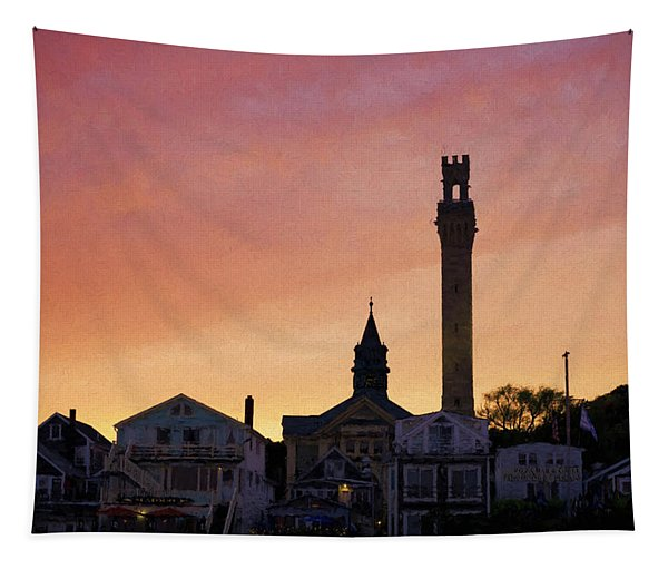 Provincetown Sunset Tapestry