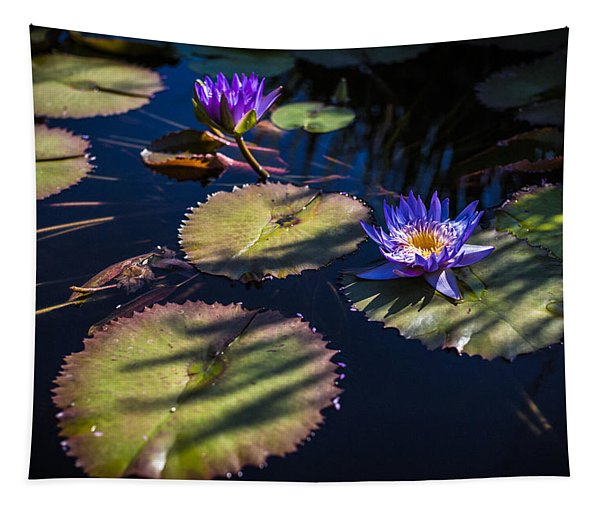 Purple Lily Tapestry