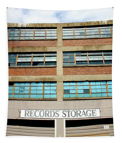 Records Storage- Nashville Photography By Linda Woods Tapestry