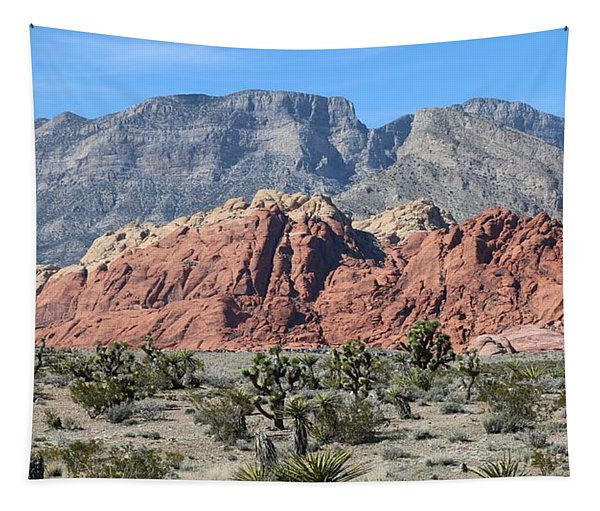 Tapestry featuring the photograph Red Rock Canyon  by Christy Pooschke