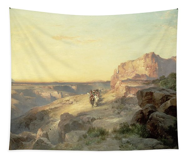 Red Rock Trail Tapestry