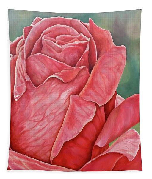 Red Rose 93 Tapestry