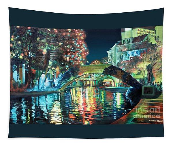 Riverwalk Tapestry